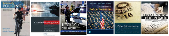 Police Sergeant Exam textbooks
